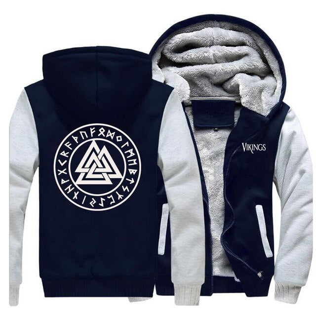 SWEAT POLAIRE <br> VALKNUT - Medieval Fantasy