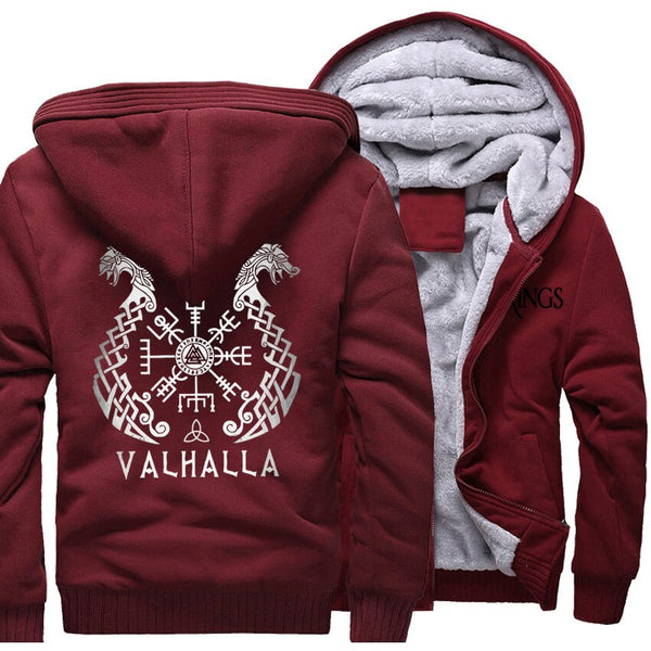 SWEAT POLAIRE <br> VALHALLA - Medieval Fantasy