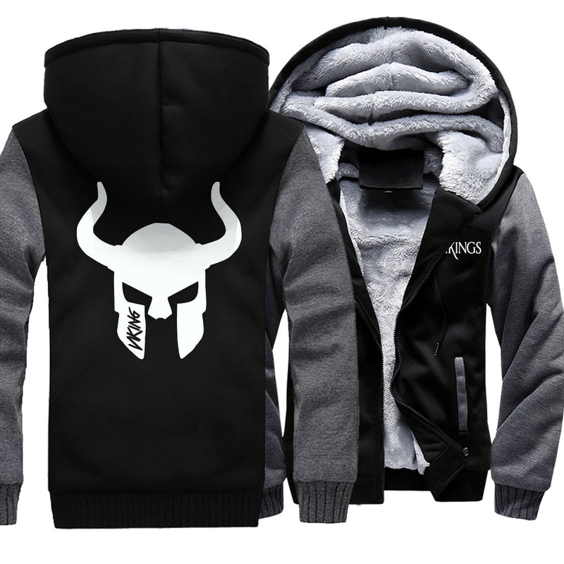 SWEAT POLAIRE <br> CASQUE VIKING - Medieval Fantasy