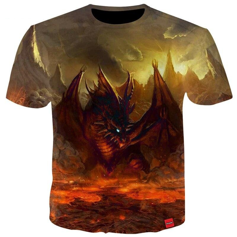 T-SHIRT DRAGON <br> MALÉFIQUE - Medieval Fantasy