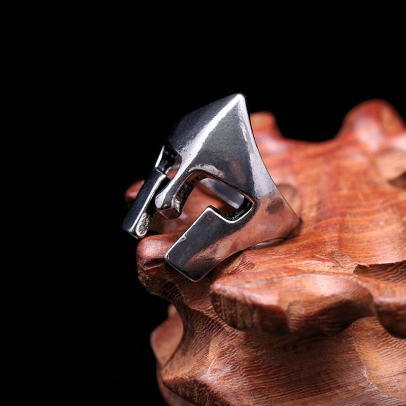 BAGUE CASQUE SPARTIATE - Medieval Fantasy