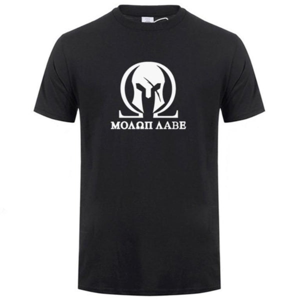 T-SHIRT SPARTIATE OMEGA - Medieval Fantasy