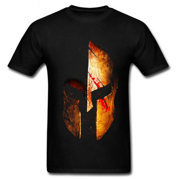 T-SHIRT CASQUE SPARTIATE ANTIQUE - Medieval Fantasy