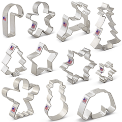Cookie cutters for custom cookies for Phoenix bakery