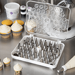 Piping tips for custom cake decorating and cookie decorating for Phoenix bakery