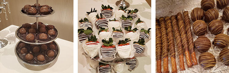 chocolate dipped strawberries treats