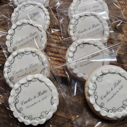 Our Wedding Day Cookies
