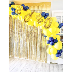 Graduation Cake & Balloon Arch