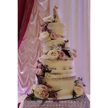 Load image into Gallery viewer, 4 Tier Naked Wedding Cake