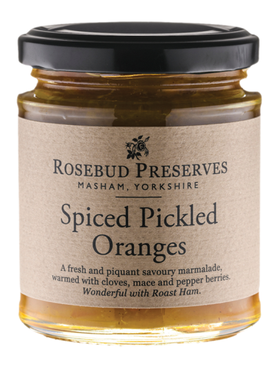 Spiced Pickled Oranges - Rosebud Preserves
