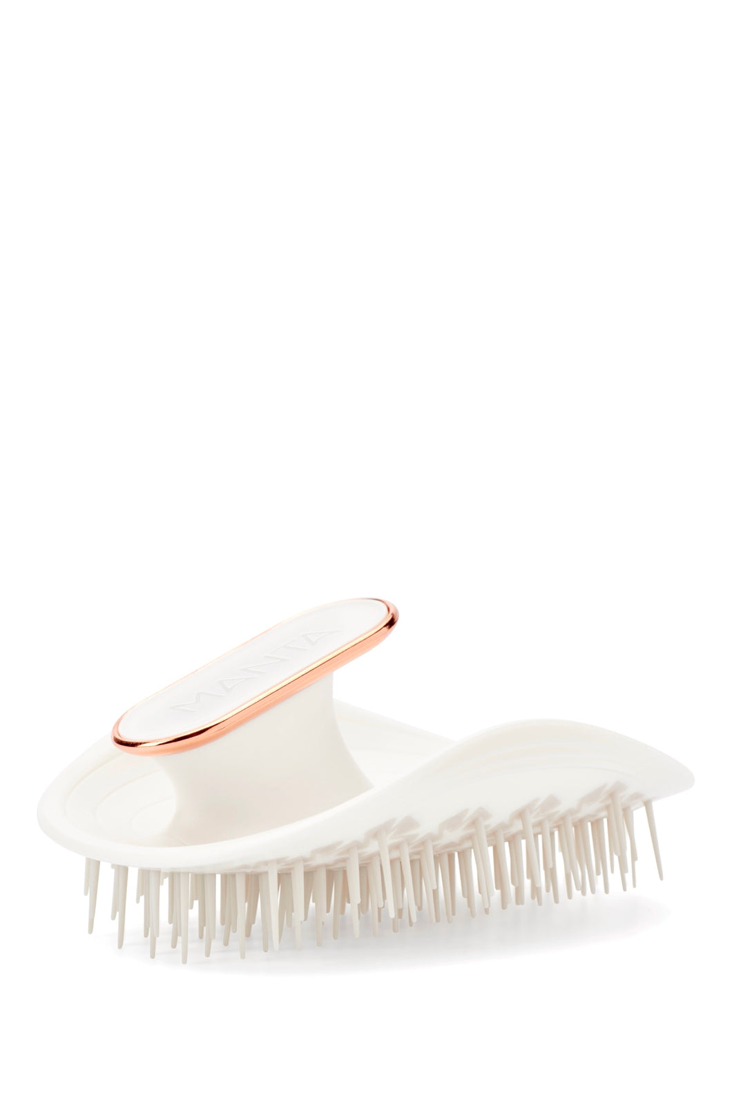 Manta Healthy Hairbrush White