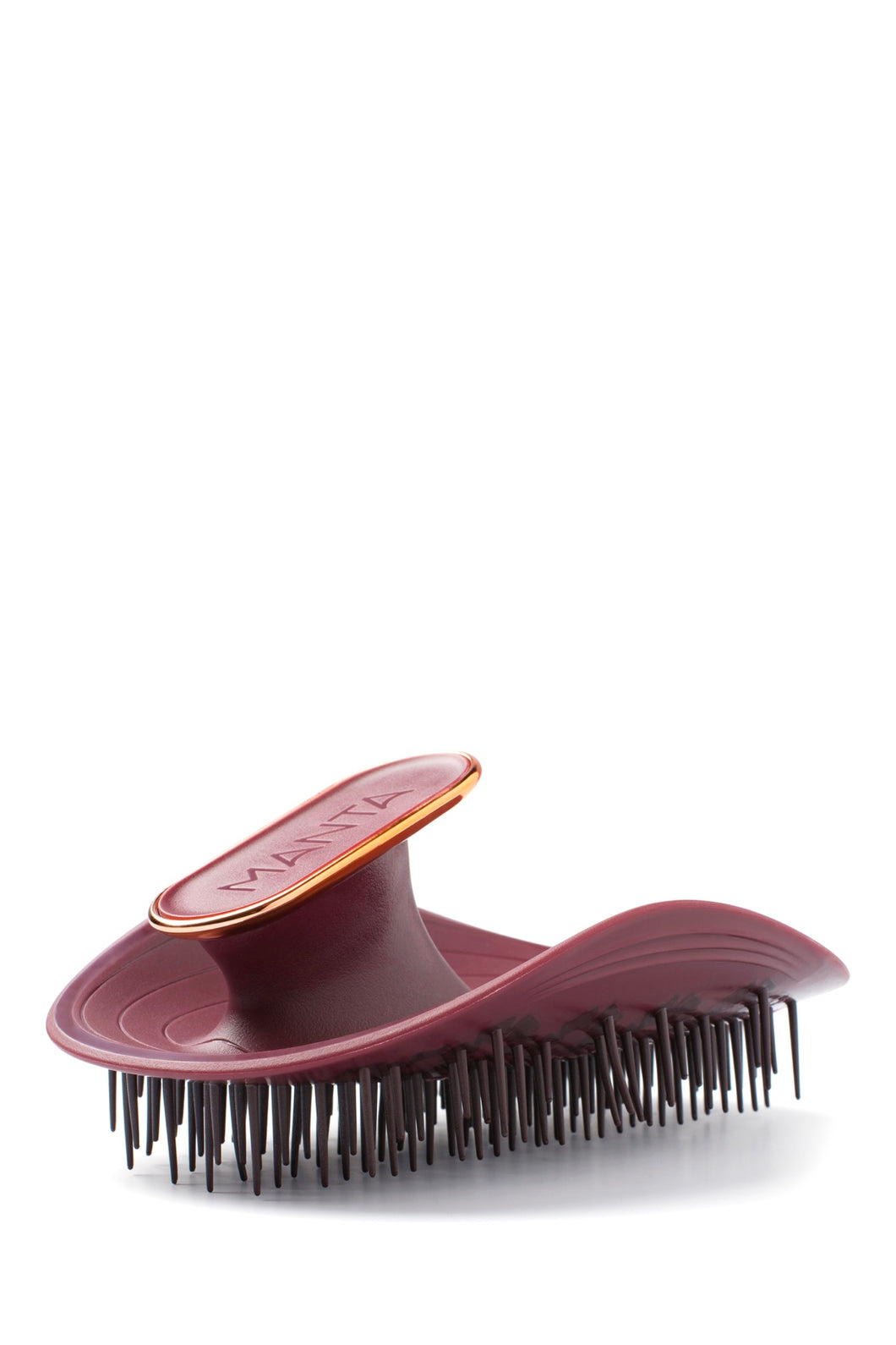 Manta Healthy Hairbrush Burgundy