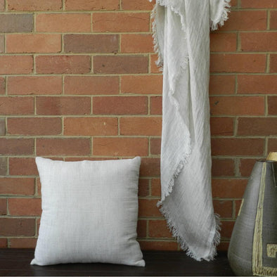 Capri Double Sided Linen Throw