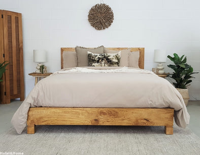 Mango Wood Slim Edgebed Furniture