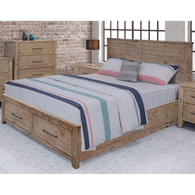 Santa Fe Queen Bed with Storage