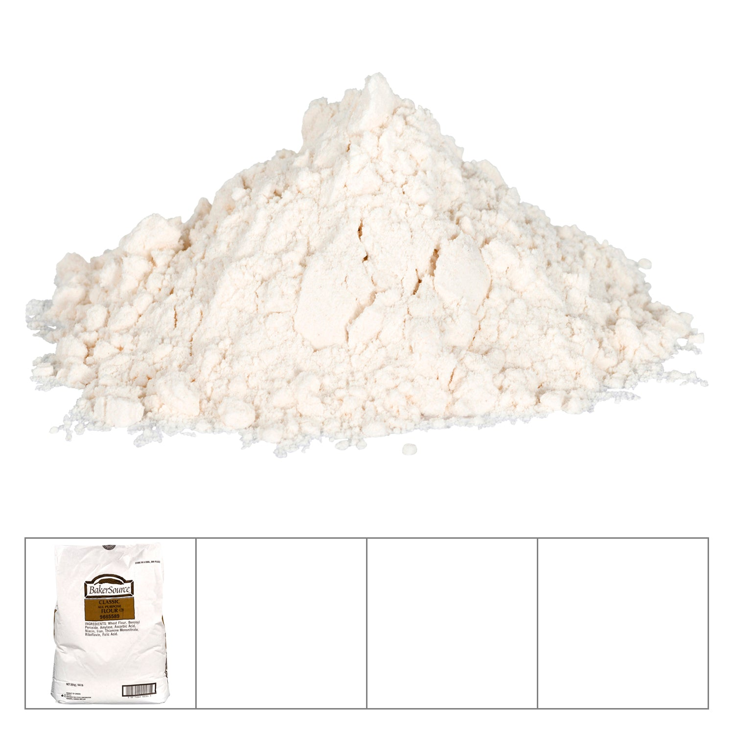 Sysco Baker's Source All Purpose Flour 20 kg - 1 Pack [$1.25/kg]