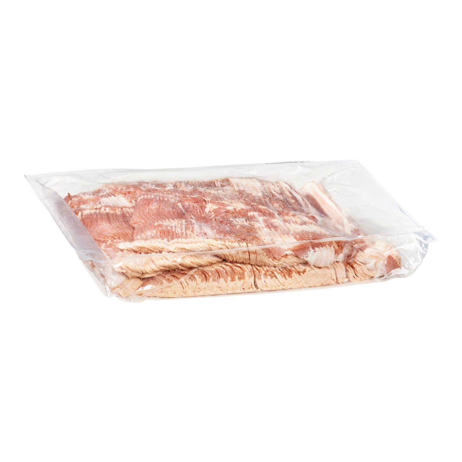 Sysco Classic Fresh Thin Sliced Center Cut Bacon 5 kg Gluten Free - 1 Pack [$13.80/kg]
