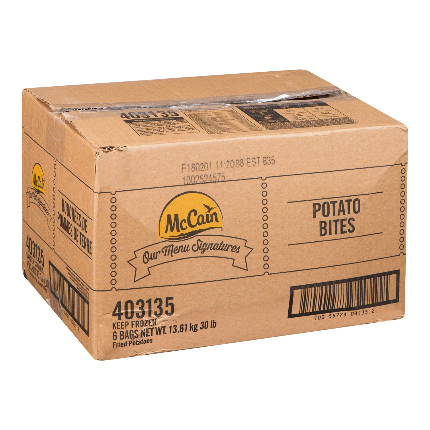 McCain Frozen Potato Bites 5 lb - 6 Pack [$2.10/lb]