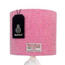 Load image into Gallery viewer, Baby Pink Harris Tweed Lampshade