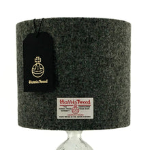Load image into Gallery viewer, Charcoal Grey Harris Tweed Lampshade