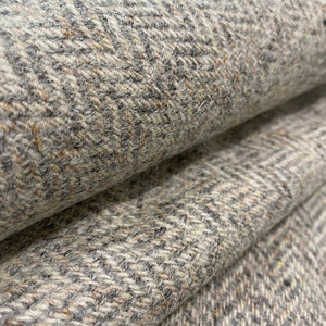 Grey Stone Herringbone Harris Tweed Lampshade