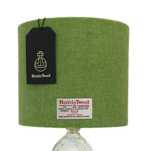 Load image into Gallery viewer, Lime Green Harris Tweed Lampshade