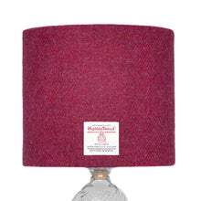 Load image into Gallery viewer, Raspberry Harris Tweed Lampshade - 20% Discount Applied At Checkout