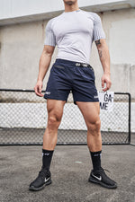 Load image into Gallery viewer, OMG® Belted Fitness Shorts