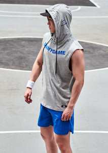 OMG® Casual Hooded Sleeveless