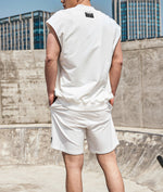 Load image into Gallery viewer, OMG® Zip-up Sleeveless/Shorts Set