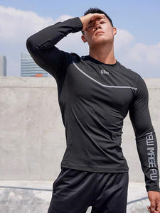 OMG® Long Sleeve Fitness T-Shirt