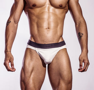 Woods Series White Crossover Brief