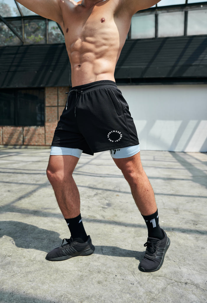 OMG® Zipper Pocket Fit Shorts