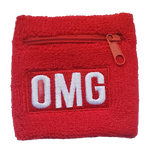 Load image into Gallery viewer, OMG® Zipper Pocket Wristband