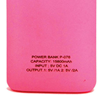 UD 15600mAh Power Bank (UD-P-076) (Pink)