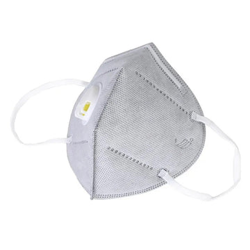 Anti Pollution 4 Layers Face Mask with Breathing Filter Valve