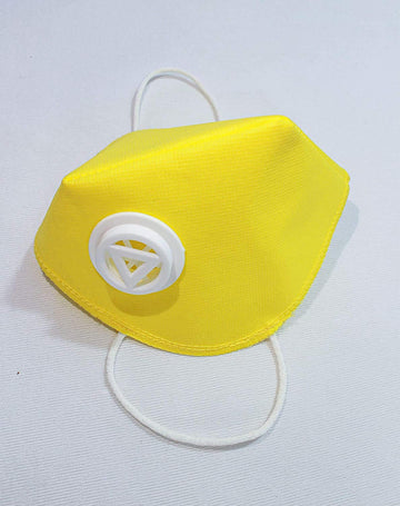 Anti Pollution 2 Layers Face Mask with Breathing Filter Valve