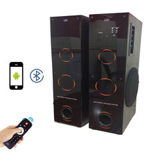 UD TWIN TOWER 28000 WATT PMPO BLUETOOTH HOME THEATER SPEAKER