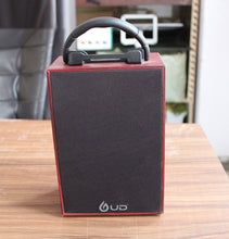 UD S046 Portable Bluetooth Speaker (S046, Red Wood Finish)