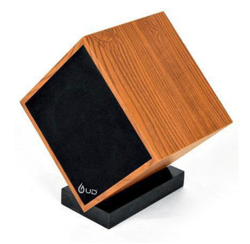 UD S069 Portable Bluetooth Speaker (S069, Wood Finish)