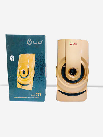 UD S070 Portable Bluetooth Speaker (S070, Golden)