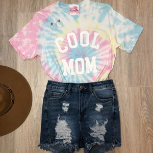 Cool Mom Tie Dye Shirt