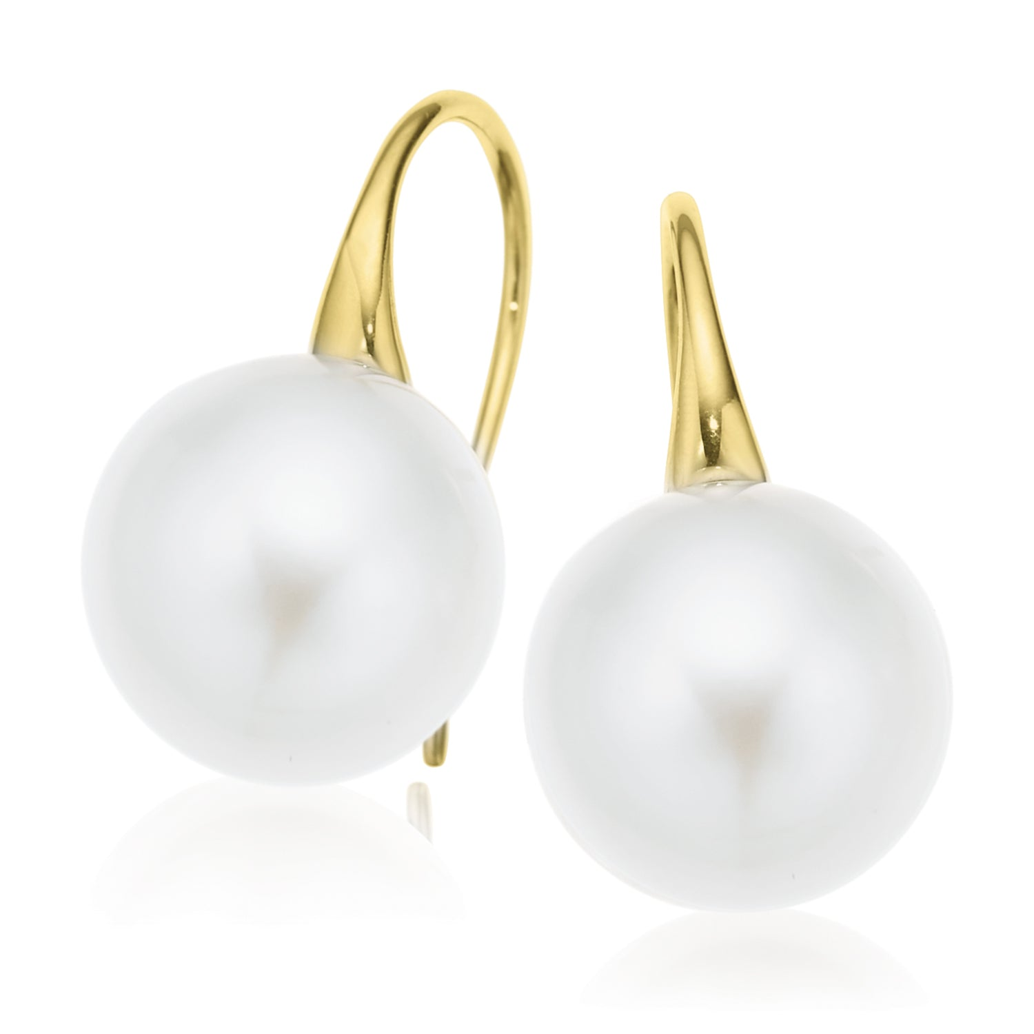 18ct Yellow Gold 11mm South Sea Pearl