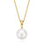 18ct Yellow Gold 13mm South Sea Pearl Diamond Pendant Set