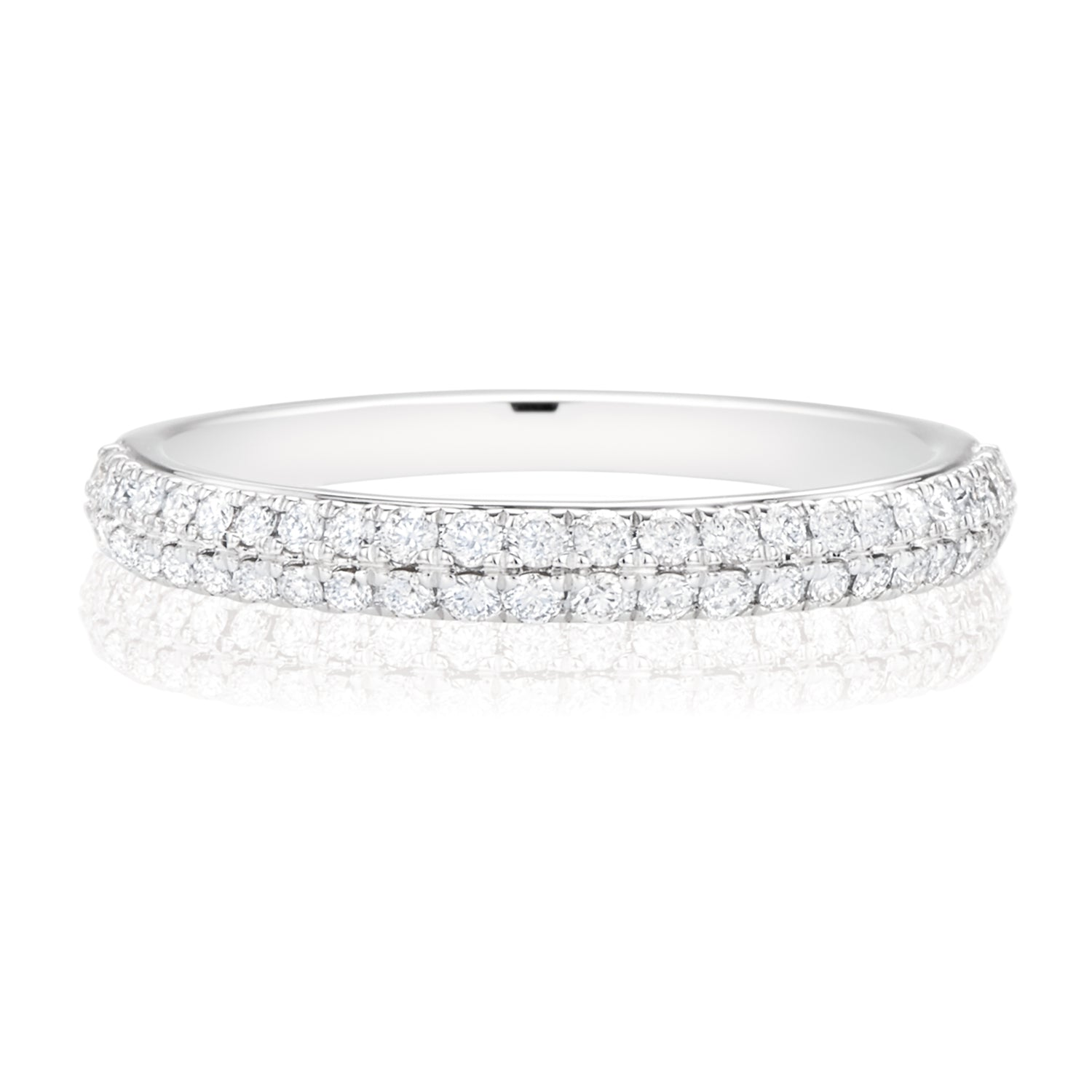 Vera Wang Love 18ct White Gold Round Brilliant Cut with 0.38 CARAT tw of Diamonds