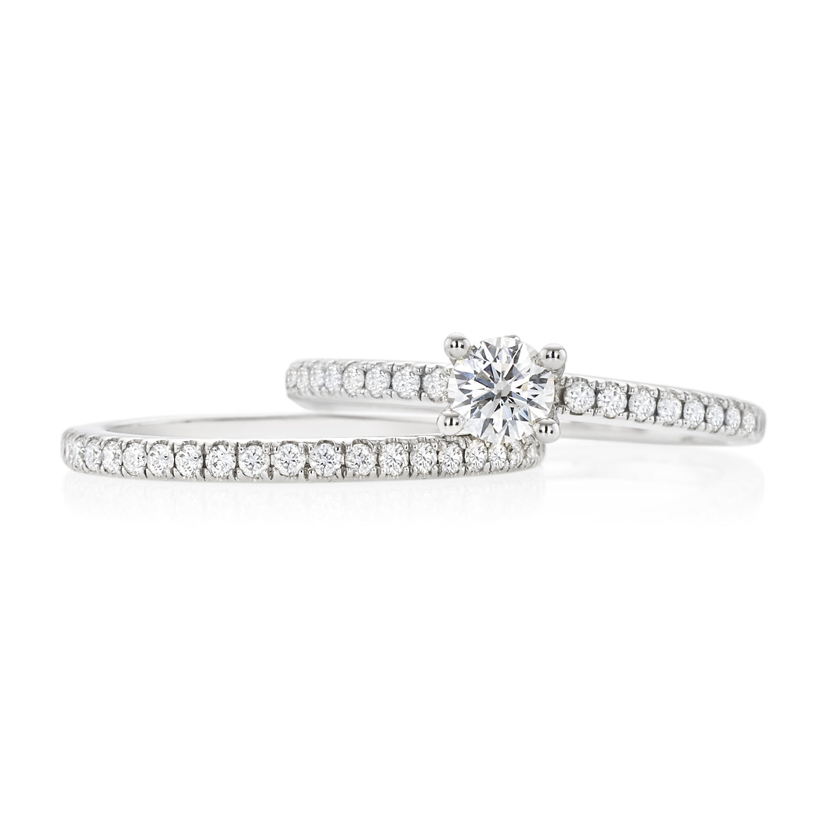 Vera Wang Love 18ct White Gold Round Brilliant Cut with 3/4 CARAT tw of Diamonds