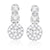 9ct White Gold Round Brilliant Cut with 1/4 CARAT tw of Diamonds