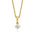 Promise 18ct Yellow Gold Round Brilliant Cut with 1/3 CARAT of Diamond Pendant