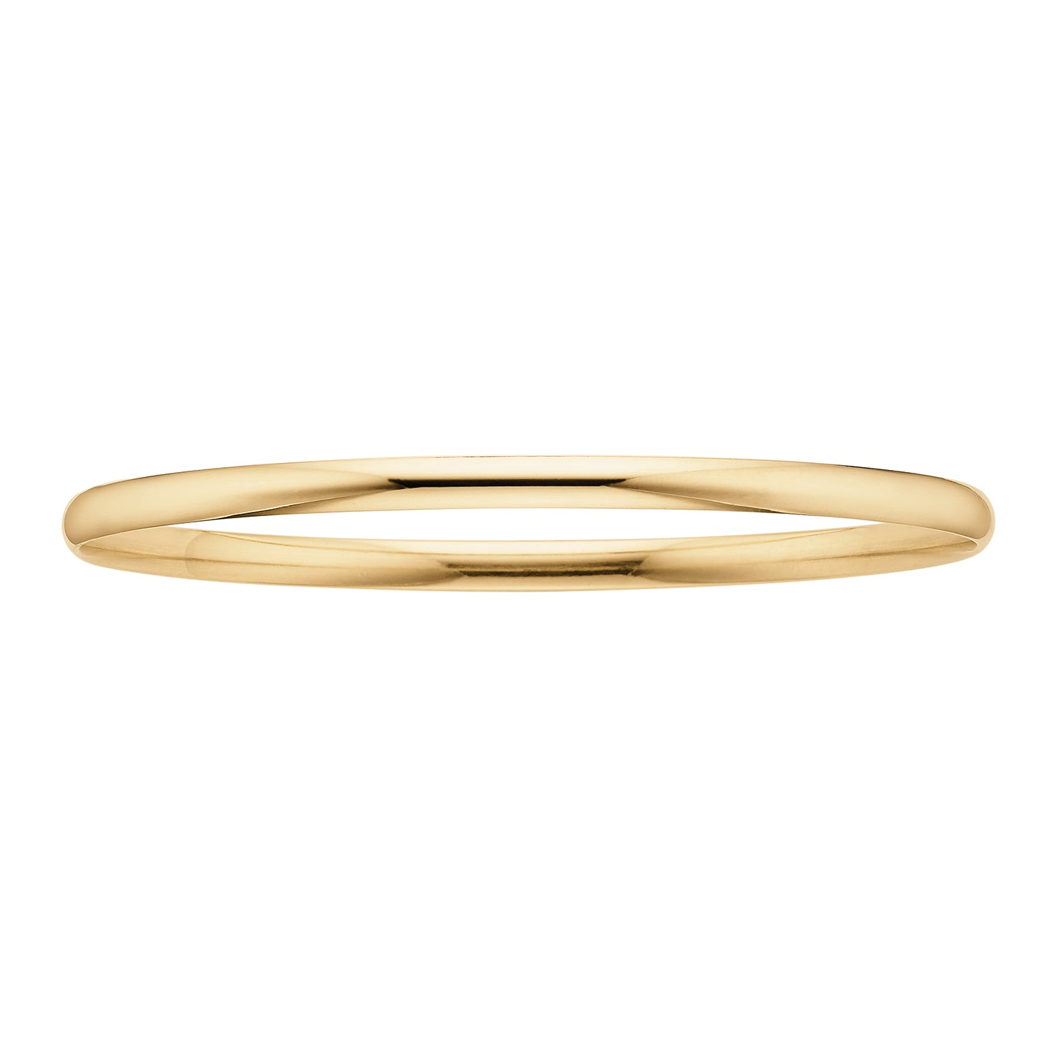 9ct Yellow Gold 65x4mm Solid