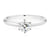 Promise 18ct White Gold Round Brilliant Cut with 1/2 CARAT of Diamonds